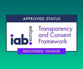 Jesteśmy w programie TCF IAB Europe!