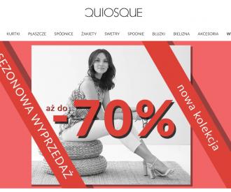 Sprzedaż live według autorskiego projektu marki Quiosque